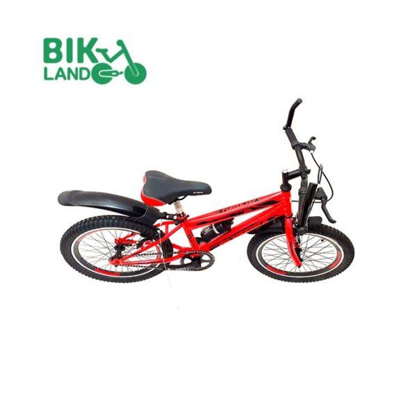 دوچرخه قرمز رنگ بچه گانه