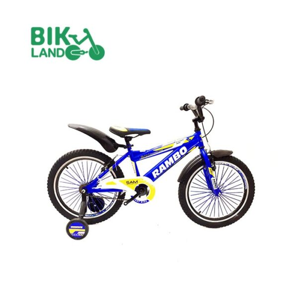 دوچرخه بچه گانه رامبو اسپرت مدل T20-M040 کد 20176 سایز 20 مناسب برای کودکان
