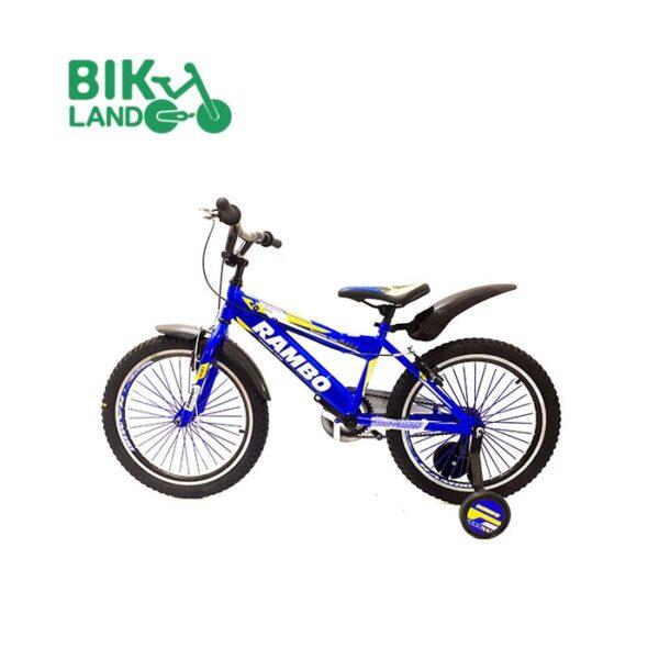 دوچرخه آبی رمبو اسپرت مدل T20-M040 کد 20176 سایز 20 مناسب برای کودکان