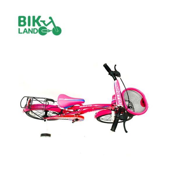 دوچرخه دخترانه تک سرعته بونیتو مدل 207-205 کد 20205 سایز 20 مناسب برای کودکان