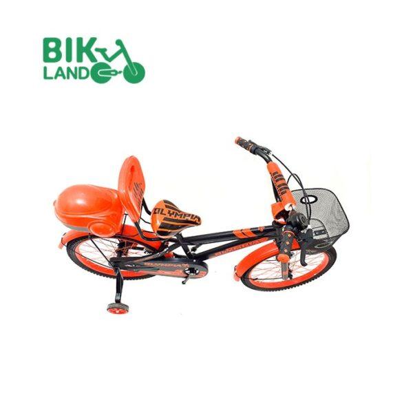 دوچرخه صندوق دار بچه گانه المپیا مدل HR20822 کد 20250 سایز 20 مناسب برای کودکان