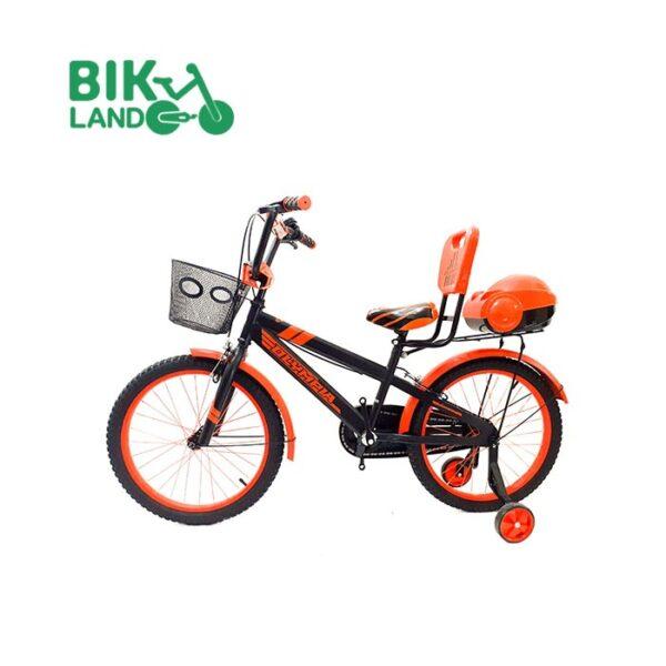 دوچرخه سبد دار بچه گانه المپیا مدل HR20822 کد 20250 سایز 20 مناسب برای کودکان