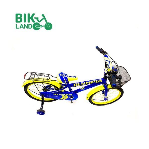 دوچرخه سبد دار بچه گانه المپیا مدلS20822 کد 20251 سایز 20 مناسب برای کودکان
