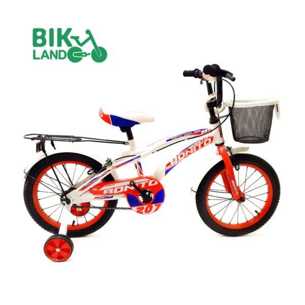 دوچرخه بچگانه بونیتو سایز 16 رنگ سفید 2