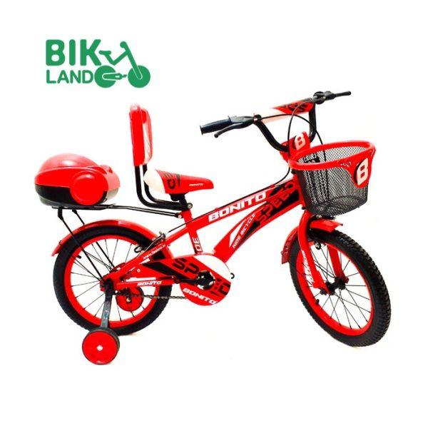 دوچرخه سواری بچه گانه بونیتو مدل 16307 سایز 16 رنگ قرمز