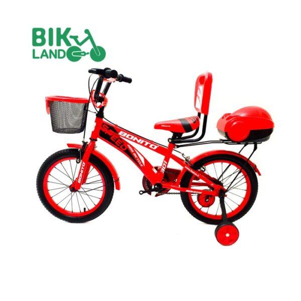 دوچرخه سواری بچه گانه سبد دار بونیتو مدل 16307 سایز 16 رنگ قرمز