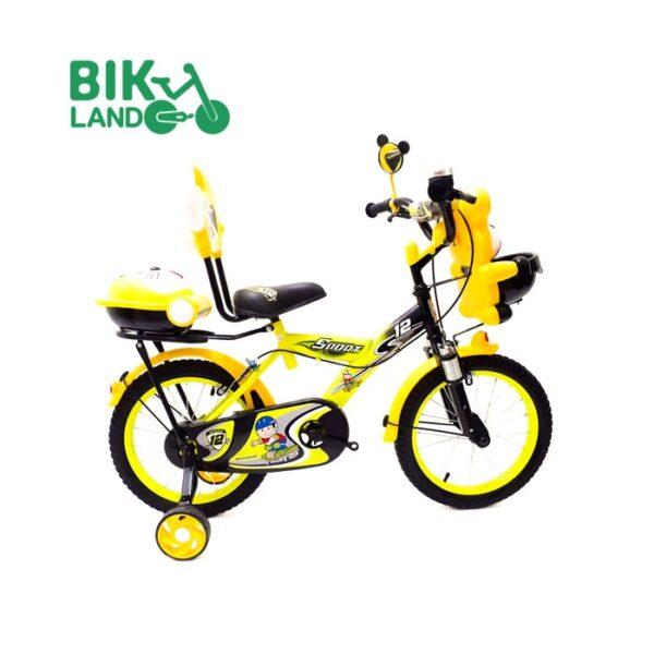 دوچرخه بچگانه دلفین سایز 16 رنگ زرد