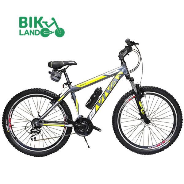 دوچرخه کوهستان ویوا مدل اکسیژن سایز 26 خاکستری