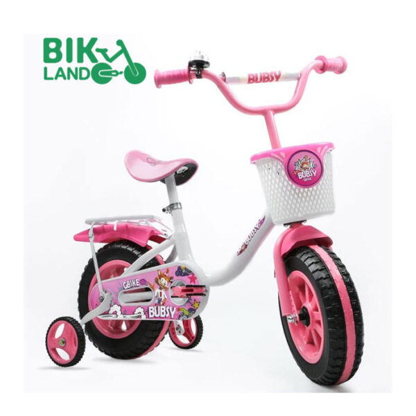 دوچرخه-بابزی-صورتی