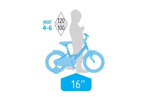 دوچرخه بچه گانه سایز 16