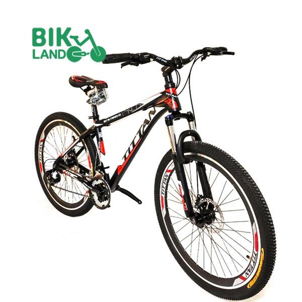 tittan t800 mountain bike front