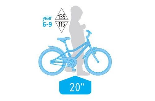 دوچرخه بچه گانه سایز 20