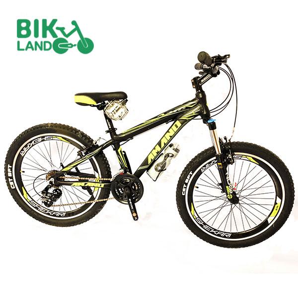 دوچرخه کوهستان شکاری آمانو سایز 24