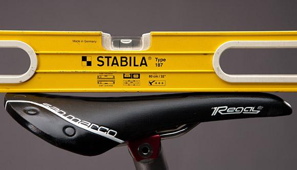 تراز-زین-دوچرخه