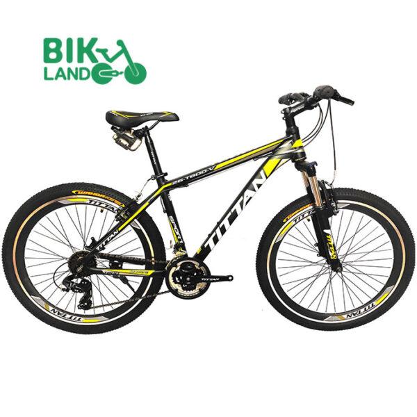 دوچرخه کوهستان تایتان مدل t800 سایز 26 مشکی