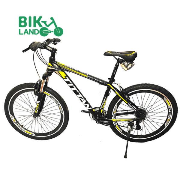 دوچرخه تایتان مدل t800 سایز 26 زرد و مشکی