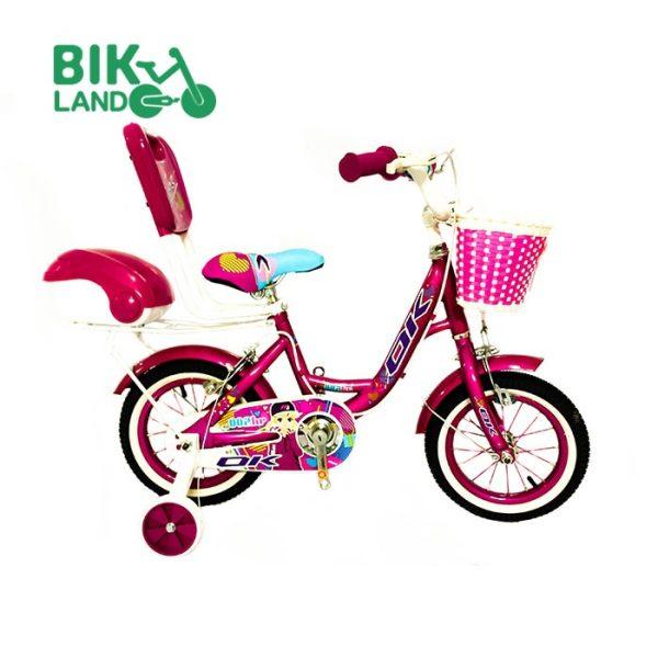 دوچرخه دخترانه اکی سایز 12