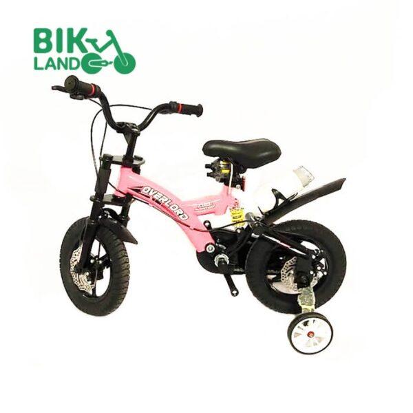 دوچرخه بچه گانه اورلرد سایز 12 رنگ صورتی