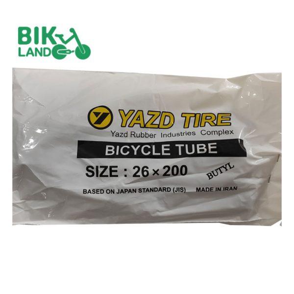 تیوپ دوچرخه یزد تایر