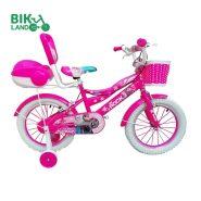 دوچرخه بچه گانه ROCK رنگ صورتی