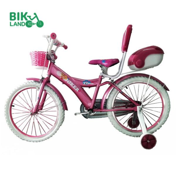 دوچرخه کودک جوکر سایز 20 صورتی