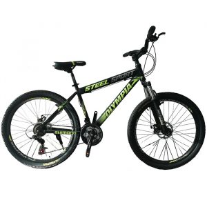 دوچرخه المپیا مدل اسپرت استیل سایز 26