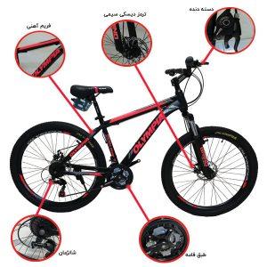 اینفوگرافی دوچرخه المپیا مدلREDBULL 02
