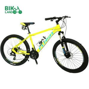 دوچرخه فلش مدل اولترا d15 زرد