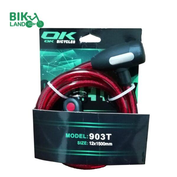 قفل دوچرخه اکی مدل 903t