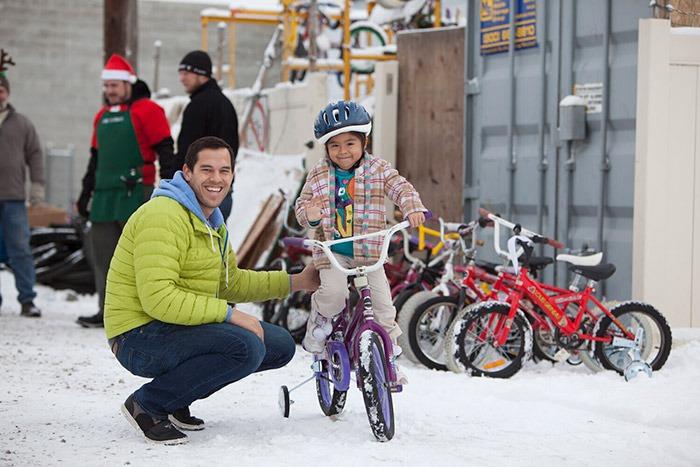 خرید دوچرخه در زمستان