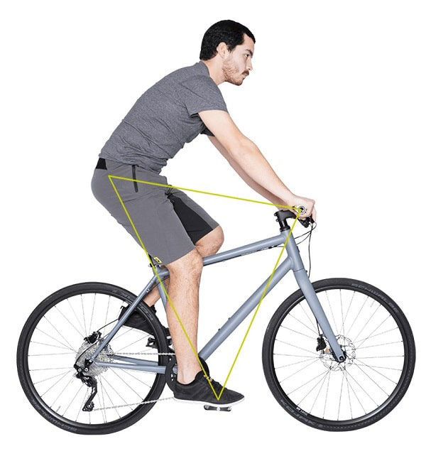 corect-fit-on-a-bicycle