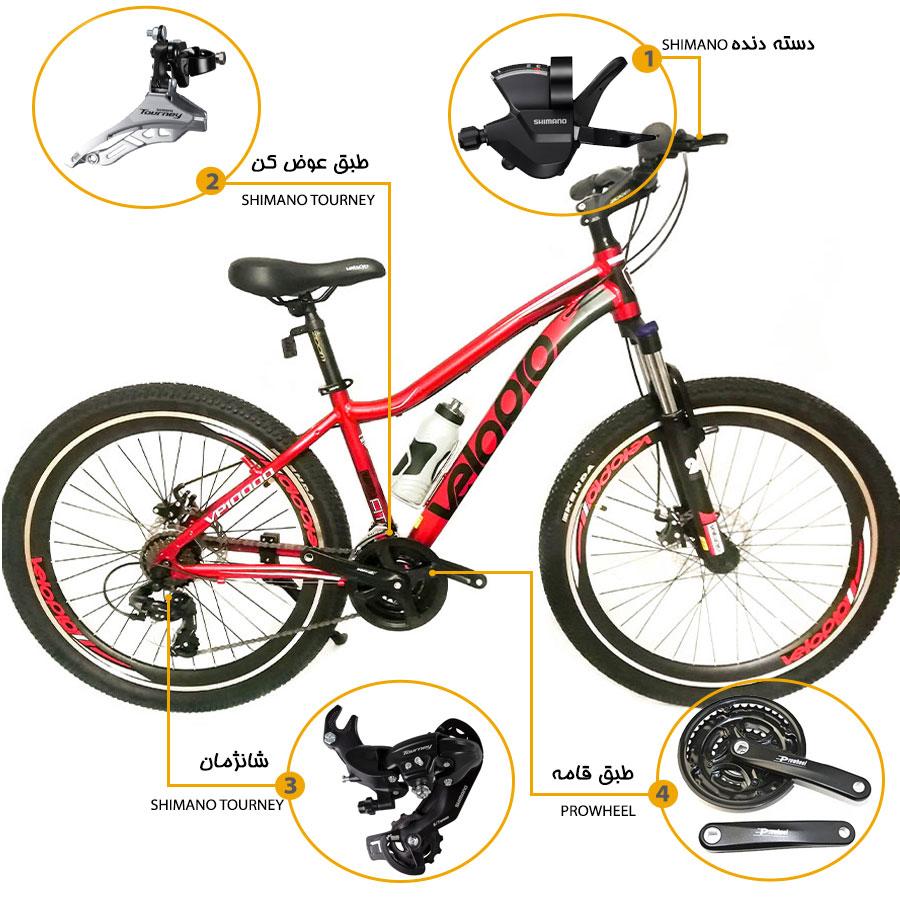 اینفوگرافی دوچرخه ولوپرو vp10000