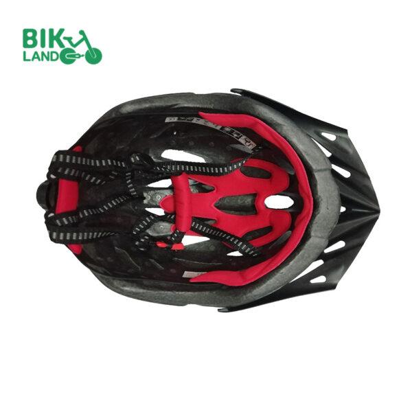 کلاه ایمنی دوچرخه راکی قرمز