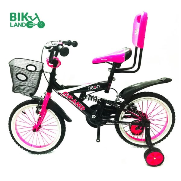 دوچرخه دخترانه گرند مدل رneon سایز ۱۶