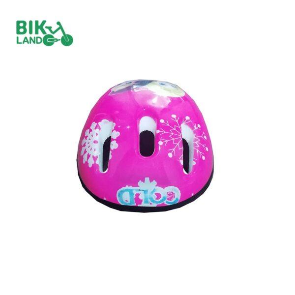 کلاه ایمنی دوچرخه دخترانه مدل غزال