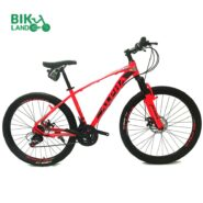 دوچرخه کوهستان آلفا مدل سولو سایز 26-قرمز
