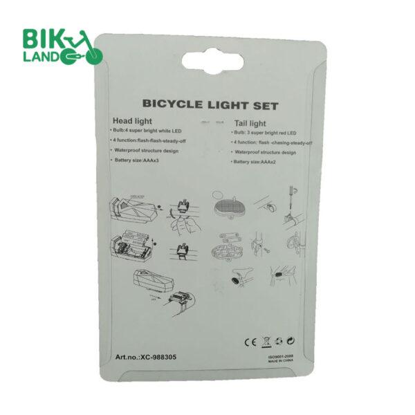 چراغ دوچرخه مدل XC-988305