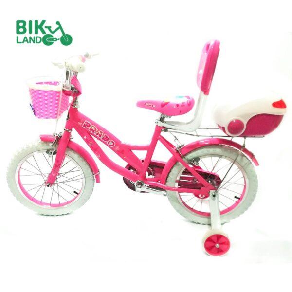 دوچرخه دخترانه پرادو مدل 601 سایز ۱۶