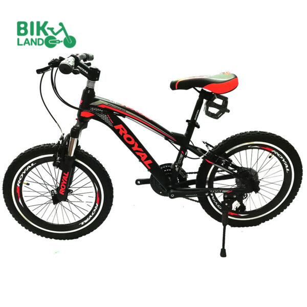 دوچرخه پسرانه رویال مدل اسلیپر کلاسیک سایز 20