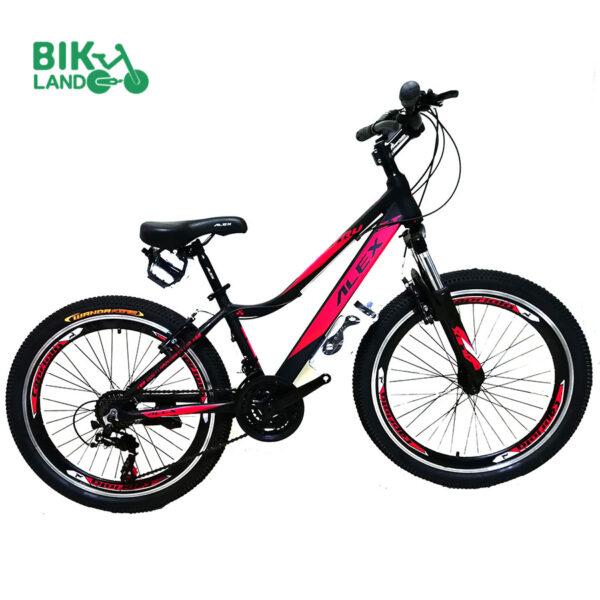 دوچرخه کوهستان الکس مدلTRUST سایز 24