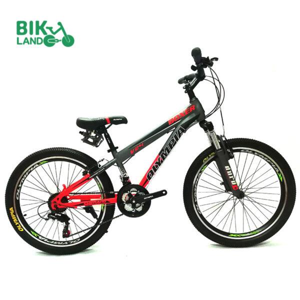 دوچرخه کوهستان المپیا مدل بوکسر سایز 24
